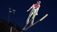 Skispringer Andreas Wellinger landet bei der WM auf Platz zwei.