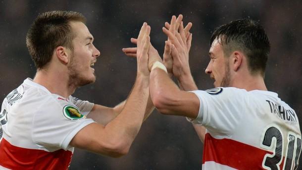 Stuttgart gewinnt dramatischen Pokal-Kampf
