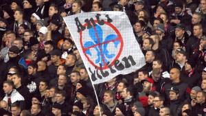 Darmstadt hebt Innenstadt-Verbot für Eintracht-Fans auf