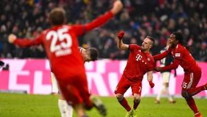 Bayerns Ribéry setzt den Punch
