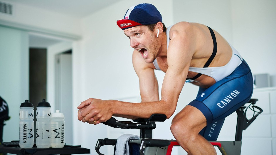 """""""Ich konnte meinem Kleinen mal richtig das Fahrradfahren beibringen"""": Jan Frodeno"""