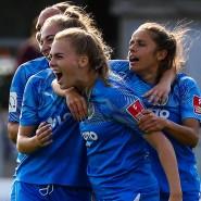 Erfolgreich: Auch Laura Freigang trifft für Frankfurt gegen Potsdam.