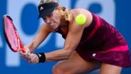 Kampfbereit: Tennis-Profi Angelique Kerber startet in die Australian Open