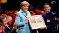 Merkel verlangt von Chinesen Verlässlichkeit