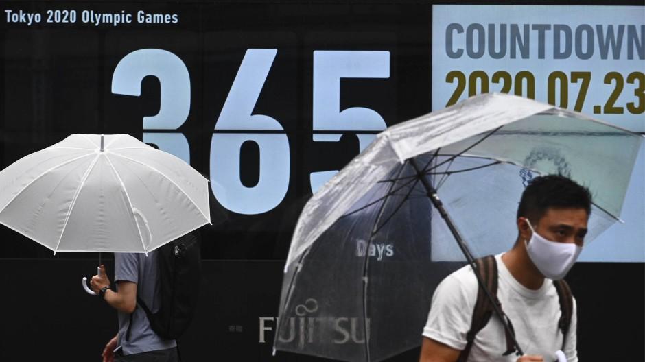 Der Countdown läuft auf ein Neues: Noch einmal sind es 365 Tage bis Olympia in Tokio.
