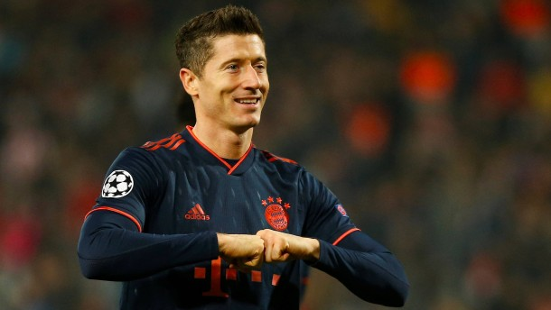 Bayern mit Lewandowski-Gala zum Gruppensieg