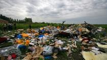 Absturzstelle von MH17 in der Ostukraine