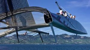 Duell der hochgerüsteten Techno-Yachten