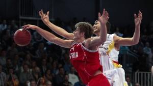 Deutsche Basketballer wieder auf EM-Kurs