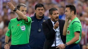 Atlético-Trainer Simeone droht lange Sperre