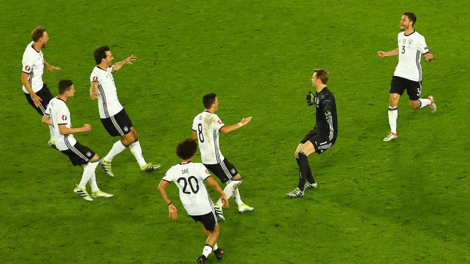 Elfmeterschießen Italien Deutschland