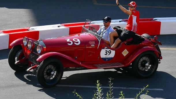 Auf der roten Welle in Monza