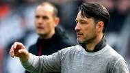Niko Kovac und Eintracht Frankfurt erlebten keinen guten Tag in Leverkusen.