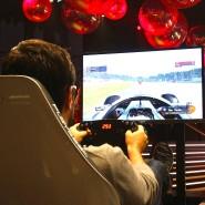 Simulation eines Rennens: für viele besser als gar nichts.