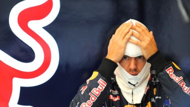Vettel im Drucktopf