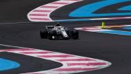 Formel-1-Fahrer brauchen Orientierungskunst, um sich in Le Castellet nicht zu verfahren
