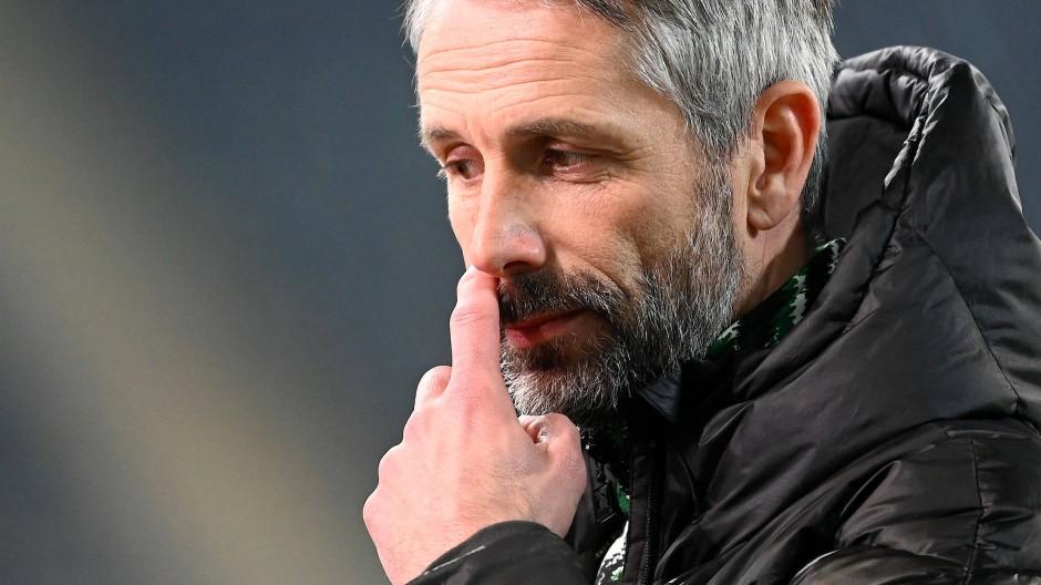 """""""Ich würde von einer unglücklichen Niederlage sprechen"""": Gladbach-Trainer Marco Rose"""