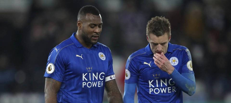 Englands Meister Leicester City In Premier League Vor