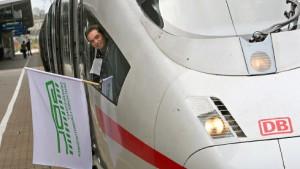 Merkel und Mehdorn mahnen die Lokführer