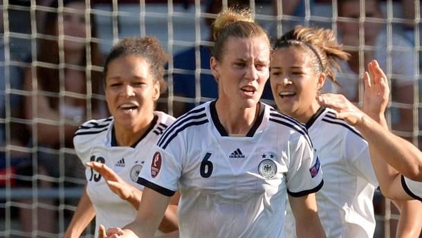 Laudehr schießt Deutschland ins Halbfinale