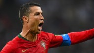 Auf drei Tore folgen drei Punkte: Cristiano Ronaldo.