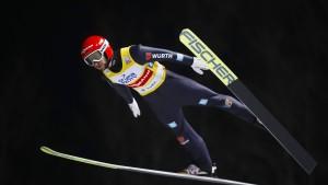 Skisprung-Quartett holt gleich Podestplatz