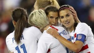 Amerikanische Fußballerinnen verklagen eigenen Verband