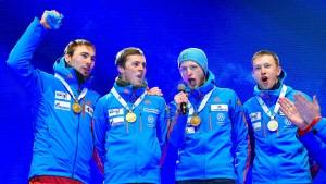 Falsche Russland-Hymne bei Biathlon-WM