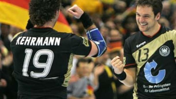 Deutschland, einig Handball-Land