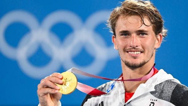 Zverev gewinnt Gold für sein Land