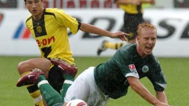 Hofland rettet Wolfsburg den Ausgleich