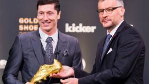 "Robert Lewandowski erhält ""Goldenen Schuh"""