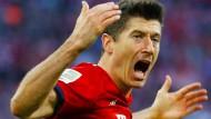 Doppelt erfolgreich gegen Dortmund: Robert Lewandowski