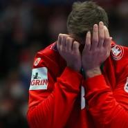 Wollte es nicht wahrhaben: Deutschlands Torhüter Andreas Wolff nach dem Spiel gegen Kroatien