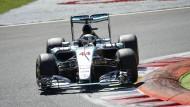 Stimmt der Druck bei Lewis Hamiltons Boliden?