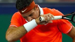 Del Potro bleibt der große Pechvogel im Tennis