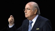 Wird Amtsinhaber Joseph Blatter nochmal zum Fifa-Präsidenten gewählt?