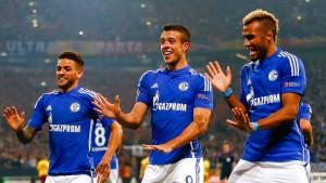Schalke tanzt sich nur zu einem Punkt