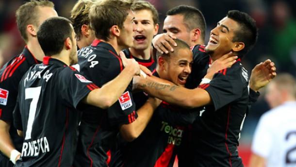 Leverkusen kommt Mainz näher