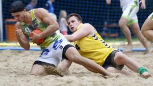 Terrier auf Sand