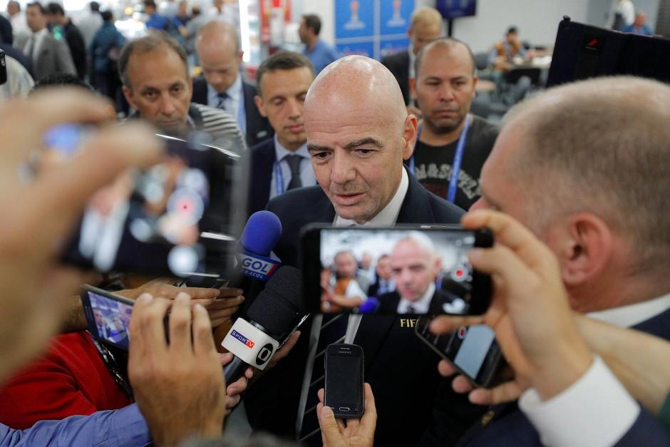 Fifa-Chef Infantino: Altlasten der Blatter-Ära beschmutzen auch auch seine Präsidentschaft