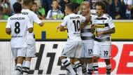 Klare Sache für Gladbach – 2:0 heißt es am Ende gegen Ingolstadt