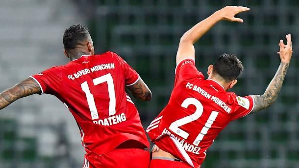 Die Meister-Bayern sind noch lange nicht satt