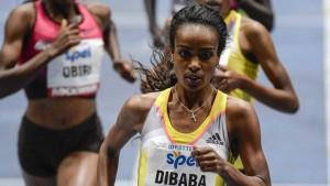 Dibaba läuft Hallen-Weltrekord
