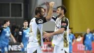 THW Kiel gewinnt Spitzenspiel bei Rhein-Neckar Löwen
