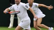 Spiel, Kuss und Dach für Wimbledon