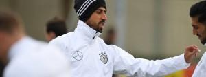 Chef im Nationalteam: Sami Khedira ist am Sonntag Kapitän