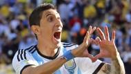 Real verbot di María Einsatz im WM-Finale