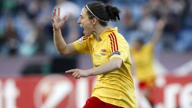 Kommt aus der amerikanischen Liga: die spanische Stürmerin Veronica Boquete