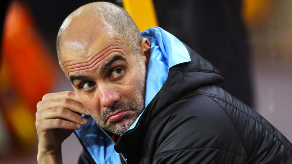 Muss sich wohl mit der Strafe abfinden: Manchester-City-Coach Pep Guardiola